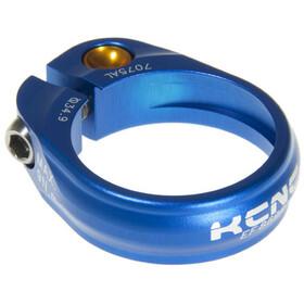 KCNC Road Pro Saddle Clamp Ø34,9mm, blue